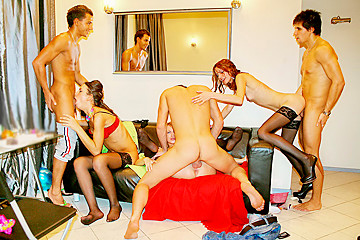 Sexy college fuck at B-day party, part 5