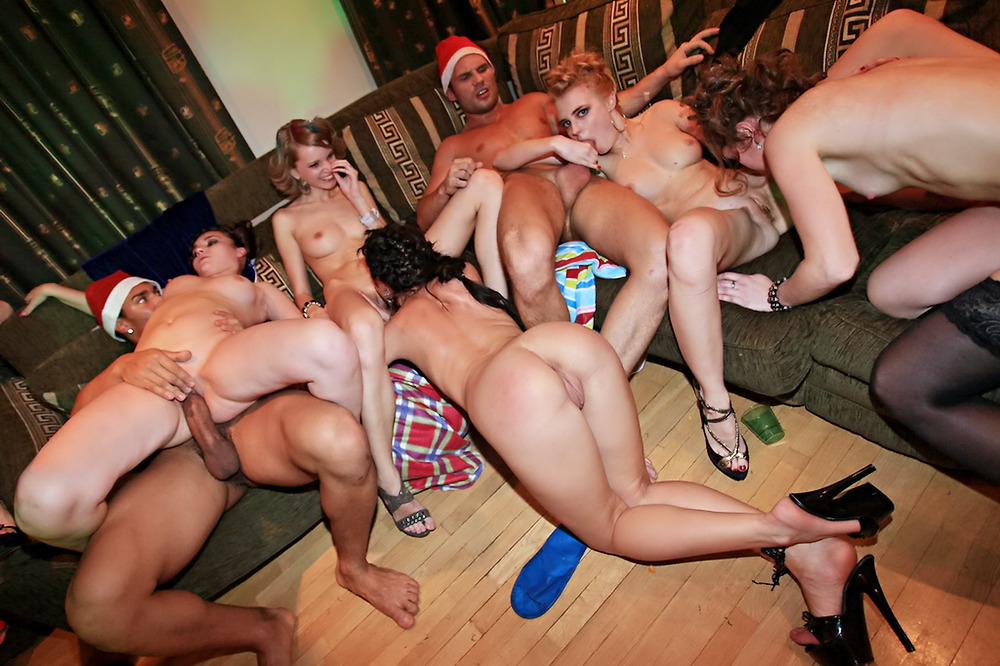 Wild New Year College Orgy